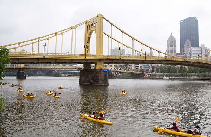 Kayaking with Venture Outdoors!
